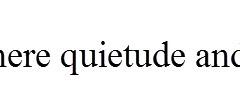 Slide 03-Quietude